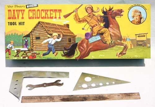"12: Davy Crockett orig cased ""Walt Disney's Official Da"