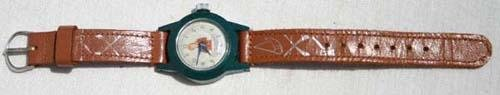 13: Davy Crockett wristwatch marked WDP (Walt Disney Pr