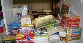 15: Huge quantity of unopened baseball card packs plus