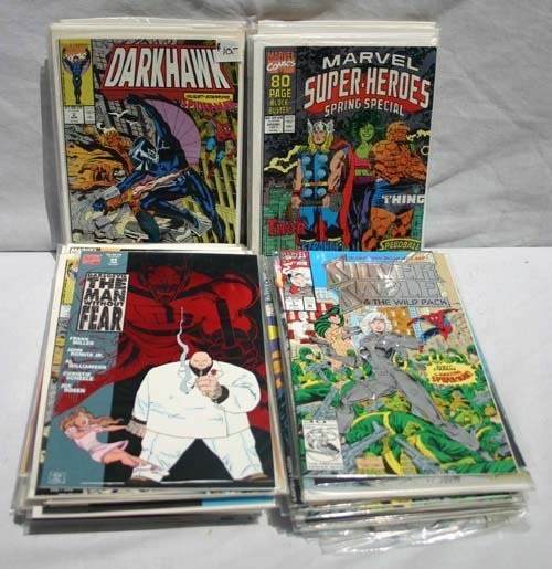 21: Large lot of Marvel comics - 1980-1991 - APPROX 200