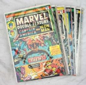 "22: Marvel comics ""Captain America"" & ""Ironman"" early 1"