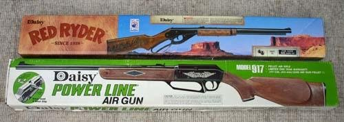"185: ""Power Line"" model 917 Daisy pellet air rifle in o"