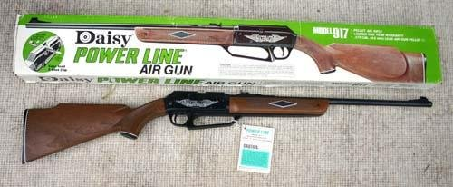 "185: ""Power Line"" model 917 Daisy pellet air rifle in o - 2"