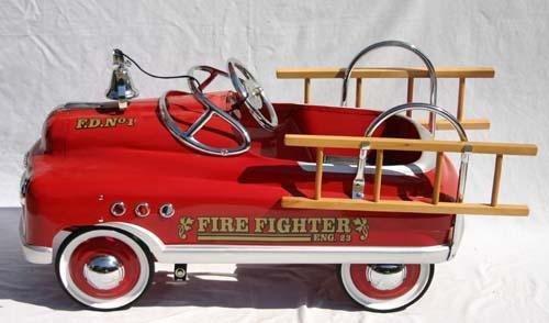 330: Fire Fighter Engine #23 (Fire Dept #1) pedal car w