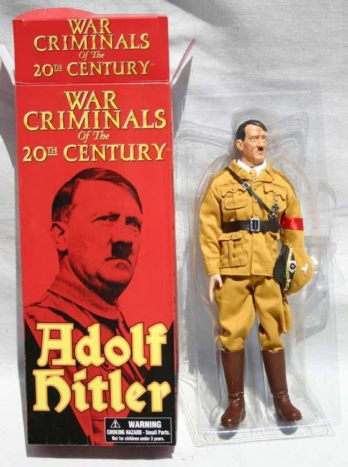 586: orig boxed Adolph Hitler doll by In The Past Toys