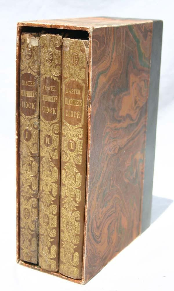 "13: 3 vol set 1st edition ""Master Humphreys Clock"" by C"