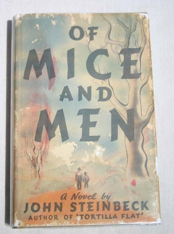 "17: 1st edition 2nd State ""Of Mice and Men"" by John Ste"