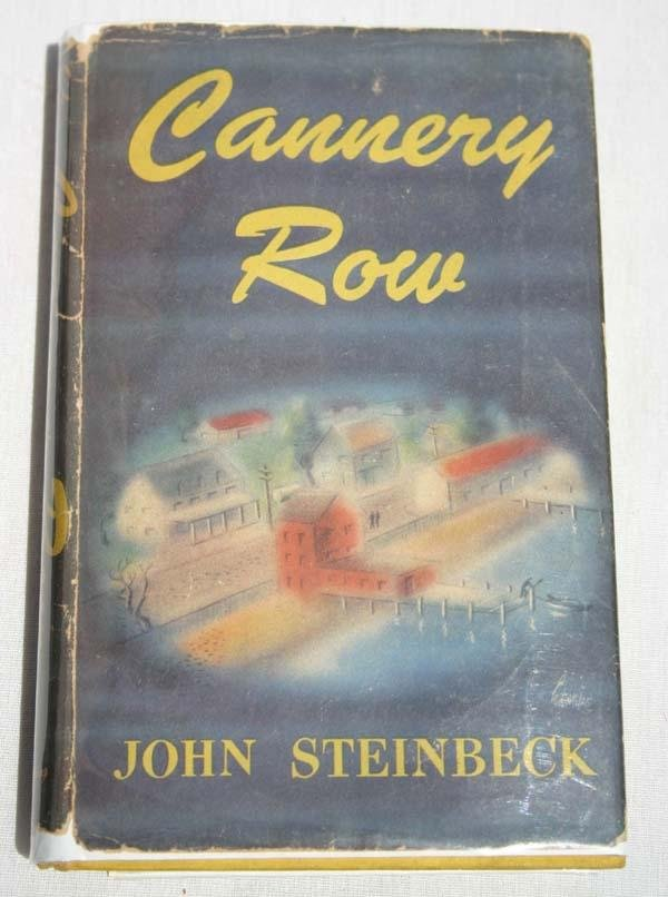 "18: 1st edition 2nd State ""Cannery Row"" by John Steinbe"