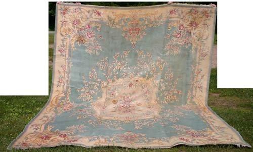 """19B: 10'6""""x14' Karastan rm size rug"""