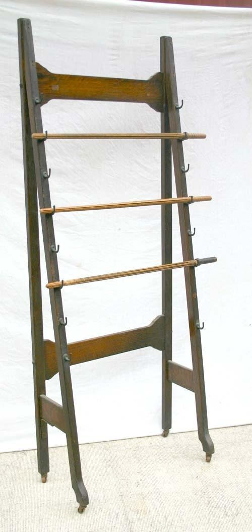 Antiques For Antique Library Style Newspaper Rack