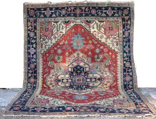 11: Beautiful 9x12 Serapi Oriental Rug