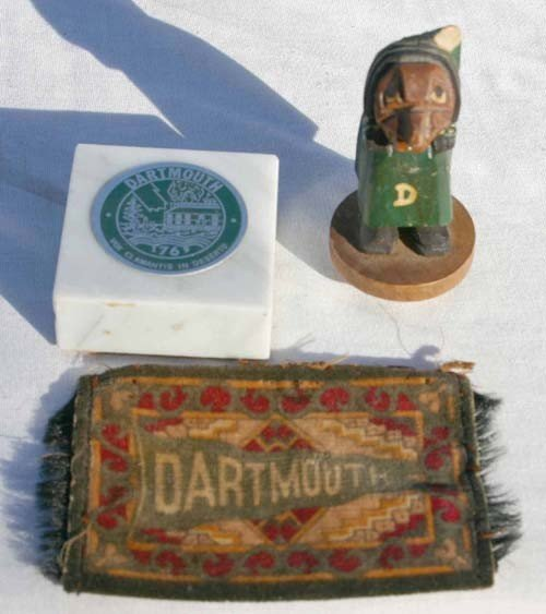 18: Dartmouth College related lot incl 19thC reverse pa