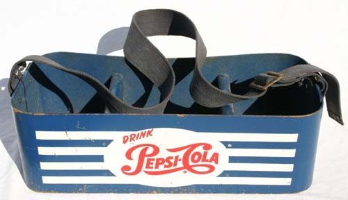 12: vintage Pepsi Cola ballpark vendor's carrier - 18 1