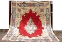 7 fine 97x132 semi antique Persian Kirman room siz