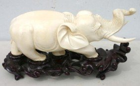 Very Large Solid 1 Pc African Ivory Magnificently