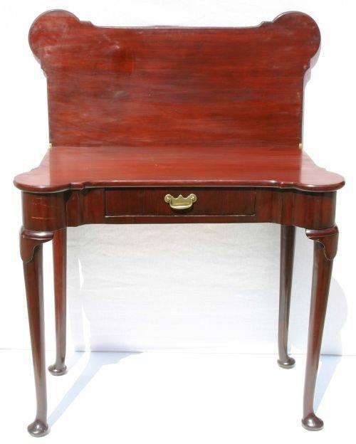 185: ca 1740 period Geo II fine quality Cuban mahog Eng