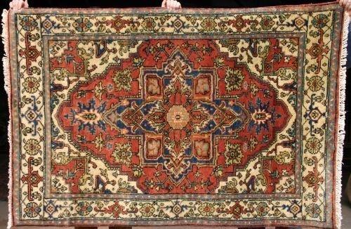191: 4x6 Serapi Oriental Rug