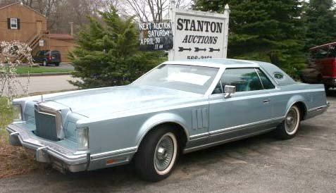 24A: 1978 Lincoln Mark V Diamond Jubilee 2dr coupe