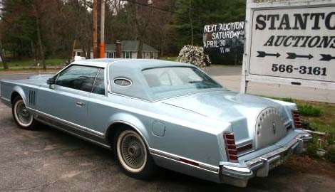 24A: 1978 Lincoln Mark V Diamond Jubilee 2dr coupe - 8
