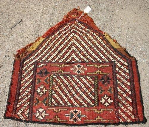 """8: 22""""x25"""" old Persian salt bag"""