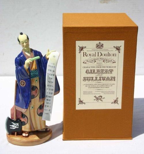 """1: Royal Doulton figurine HN2898 """"Ko Ko"""" in orig box"""