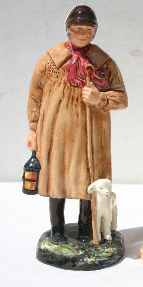 "4: Royal Doulton figurine HN1975 ""The Shephard"""