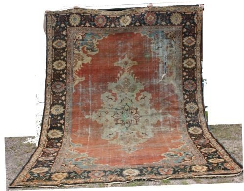 "10: 8'5""x11'9"" 19thC Zieglar Mahal rm size Oriental rug"