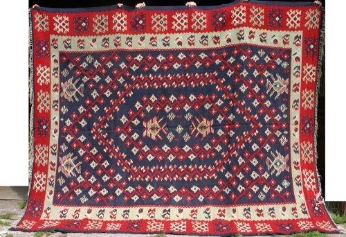 15: 7'6x9'7 semi antique Bess Arabian Kilim Oriental ru