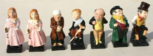 "1: 6 pc Royal Doulton Dickens character set ""Sam Weller"