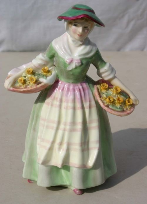 "2: Royal Doulton figurine ""Daffy Down Dilly"" HN 1712"