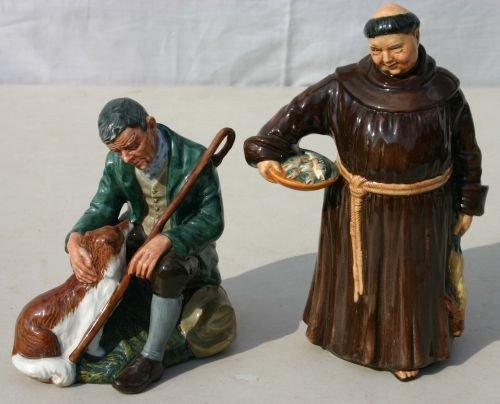 "6: 2 Royal Doulton figurines ""The Master"" HN 2325 & ""Th"