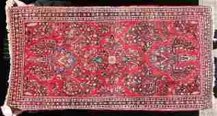 2 22x42 semiantique Persian Sarouk Oriental area