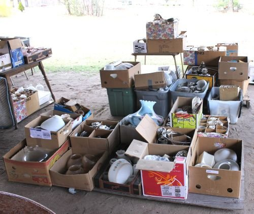 25A: Huge lot of 55 boxes of lighting from a NJ lightin