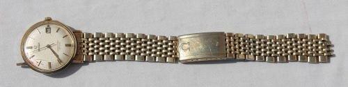 27: ca 1950's Omega Seamster DeVille men's automatic wr