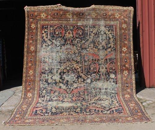 "31: 8'5""x11'7"" antique ca 1910 Persian Sultanabad Orien"