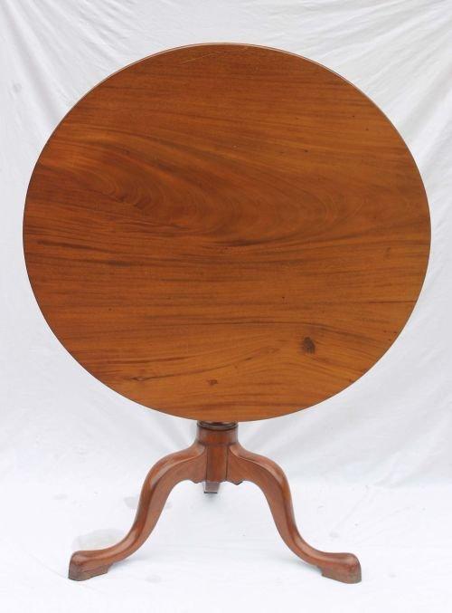 40: QA period ca 1760-1780 Newburyport, MA carved mahog