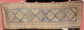"5'x14'6"" Antique Persian Kurd Oriental Corridor Rug"