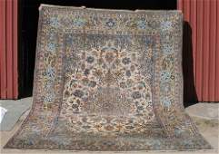 "81: 9'10""x13' semi-antique Persian Isphahan Oriental rm"