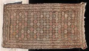 16 67x37 antique Kazak Oriental area rug