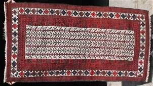 17 510x3 semiantique Balouch Oriental area rug