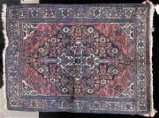 22 47x36 semiantique Hamadan Oriental area rug