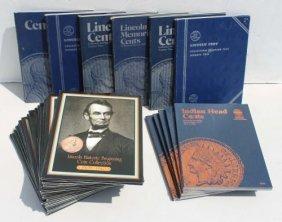26 Coin Books - All Pennies - Estate Fresh
