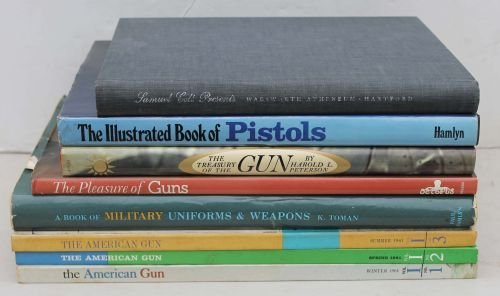 84B: Lot of 8 reference books on guns