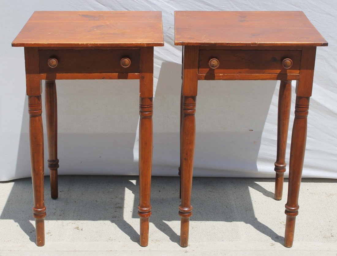 10: hard to find pair of late period Sheraton ca 1830 p