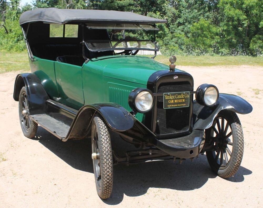 "60A: 1924 Willys ""Overland"" 4 door convertible touring"