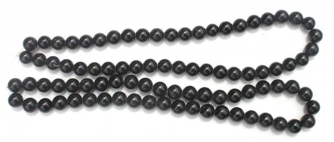11: 2 Chinese jade strands of beads