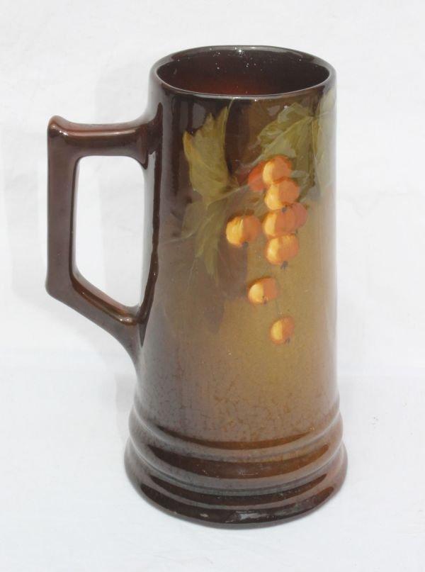 "2: sgnd J.B. Owens ""Utopian"" American Art Pottery mug w"