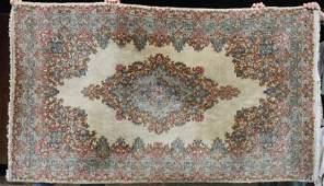 231 4x610 semi antique Persian Kirman Oriental area