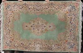 341 311x6 semi antique Kirman Oriental area rug fea
