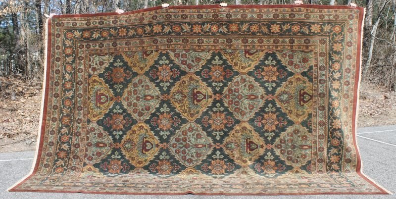 "9'3""x13'5"" Agra Bahktiari rm size Oriental rug"